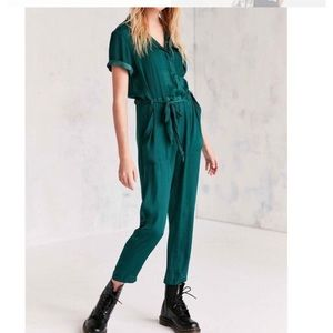Urban outfitters BDG silk jumpsuit